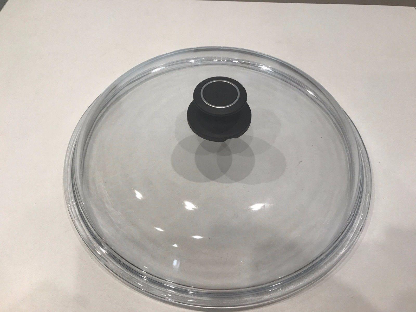 Amt gastroguss glasdeckel deckel f r pfannen rund for Deckel rund 60 cm